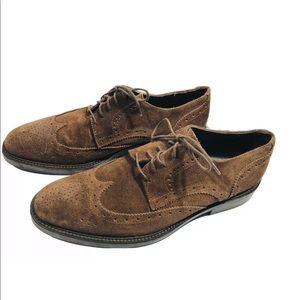 To Boot New York A Derrick brown suede Leather 8.5